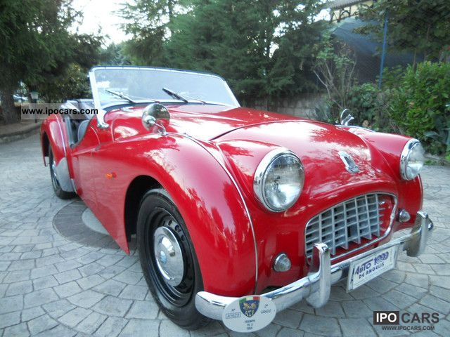 Triumph  TR3 roadster Bocca Stretta \ 1955 Vintage, Classic and Old Cars photo