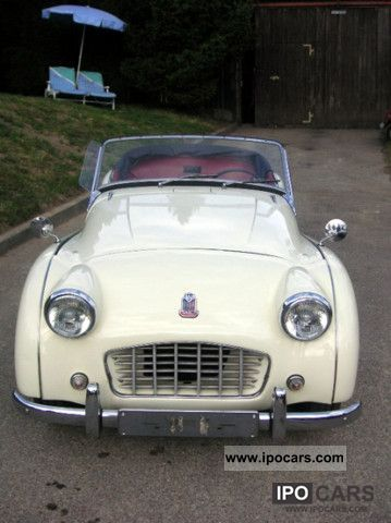 Triumph  TR3 smallmouth 1957 Vintage, Classic and Old Cars photo