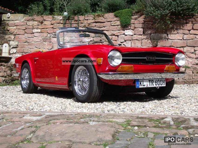 Triumph  TR6 1969 Vintage, Classic and Old Cars photo