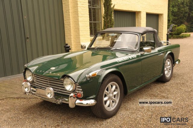 1967 Triumph TR4 A IRS restored - Car Photo and Specs