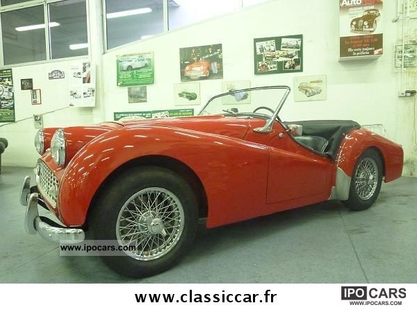 Triumph  TR3 1956 Vintage, Classic and Old Cars photo