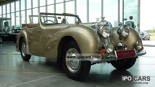 Triumph  2000 Roadster 1948 Vintage, Classic and Old Cars photo