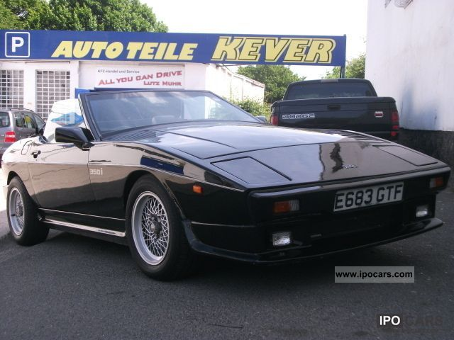 1988 TVR  350i/v8/neuw.Verdeck/4999 € / TOP / Cabrio / roadster Used vehicle photo