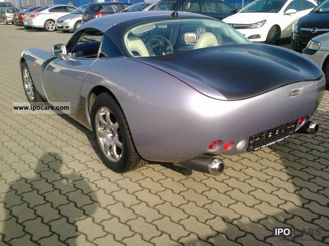 2000 TVR  4.0 Speed ​​6 Tucson El FH leather aluminum THE EXTREME! Cabrio / roadster Used vehicle photo