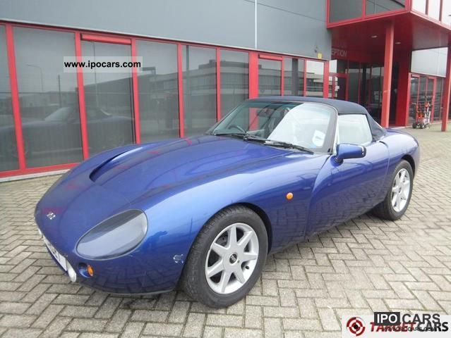 1999 tvr griffith 500 convertible 5 0l v8 car photo and specs. Black Bedroom Furniture Sets. Home Design Ideas