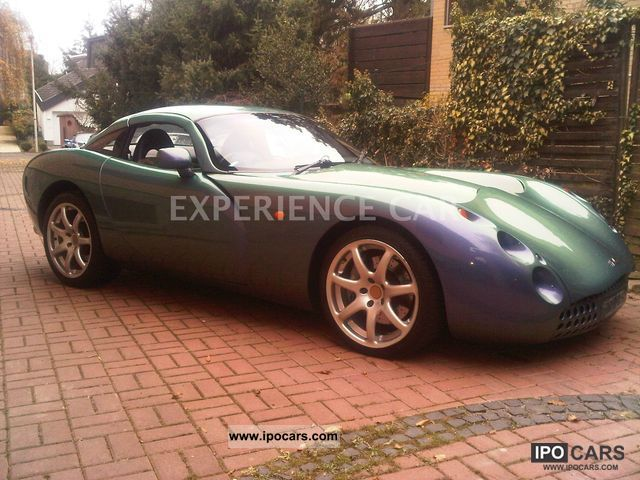 2000 Tvr Tuscan Red Rose