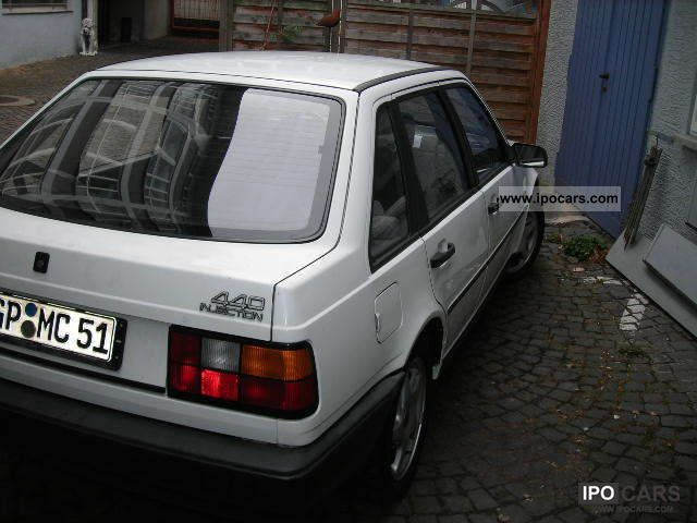 1990 Volvo 440 Injection Car Photo And Specs