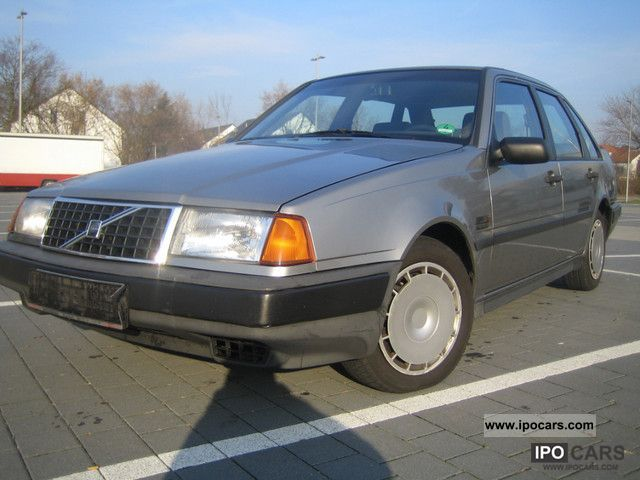 1991 Volvo  440 GL Injection `` Coupling'' 2-HAND Limousine Used vehicle photo