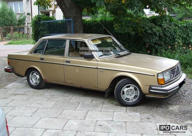 1979 Volvo  244 GLE '79 B21E Limousine Used vehicle photo