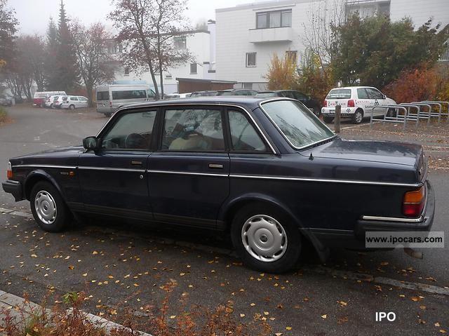 1988 Volvo  244 GL sedan \ Limousine Used vehicle photo