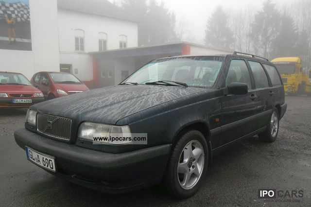 1993 Volvo  20V Combi 850 HU Green AHK new plaque Estate Car Used vehicle photo