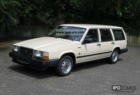 1987 Volvo 745 GL - Car Photo and Specs