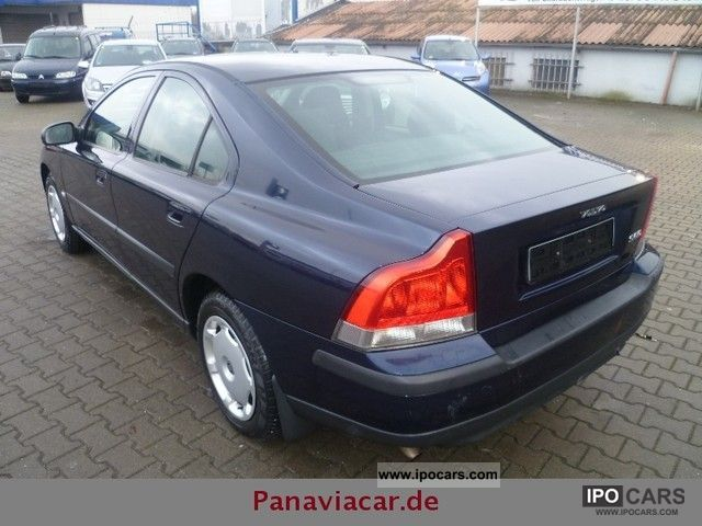 2001 Volvo S60 2.4 Climate excellent condition Euro3 - Car ...