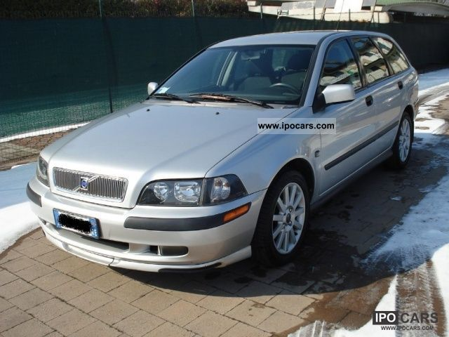 2002 Volvo V40 1 9 D Cat Car Photo And Specs