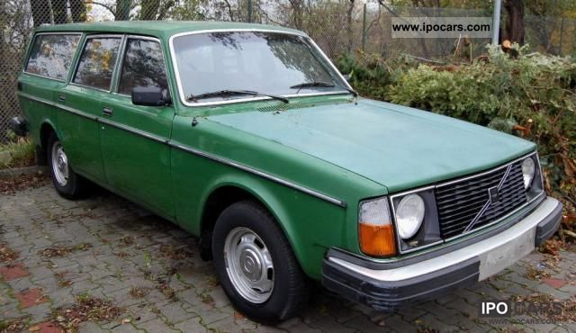 1976 Volvo  245 Combination 1.Besitz Estate Car Used vehicle photo