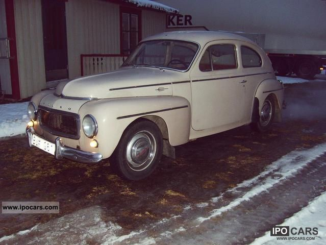 Volvo  PV B16A 1960 Vintage, Classic and Old Cars photo