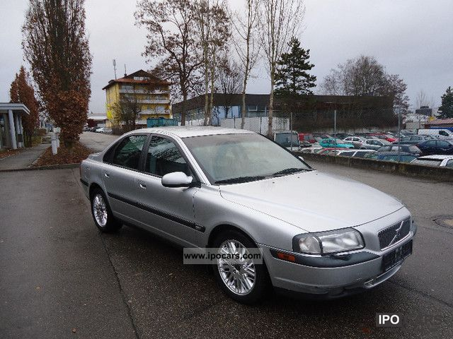 1998 Volvo  S80 T6, leather, Navi, PDC, cruise control, aluminum, MEMORY SEAT Limousine Used vehicle photo