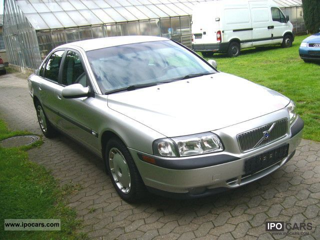 2001 volvo s80 2 0t top car photo and specs. Black Bedroom Furniture Sets. Home Design Ideas