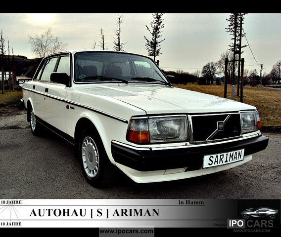 1990 Volvo  240 GLE A DREAM IN WHITE ** ** Limousine Used vehicle photo