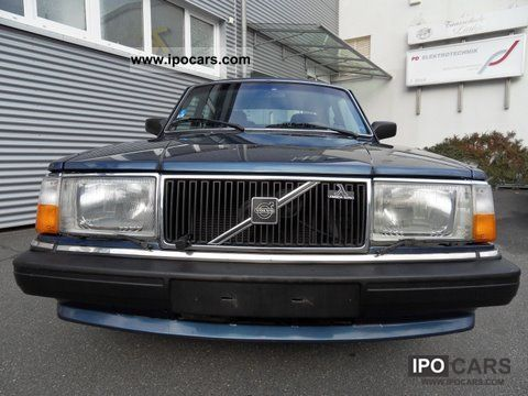 1989 Volvo  244 GL automatic heater, stainless Limousine Used vehicle photo