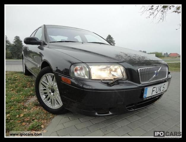 2001 Volvo  * S80 * ALU * AIR BENZYNA * NAVI * Limousine Used vehicle photo