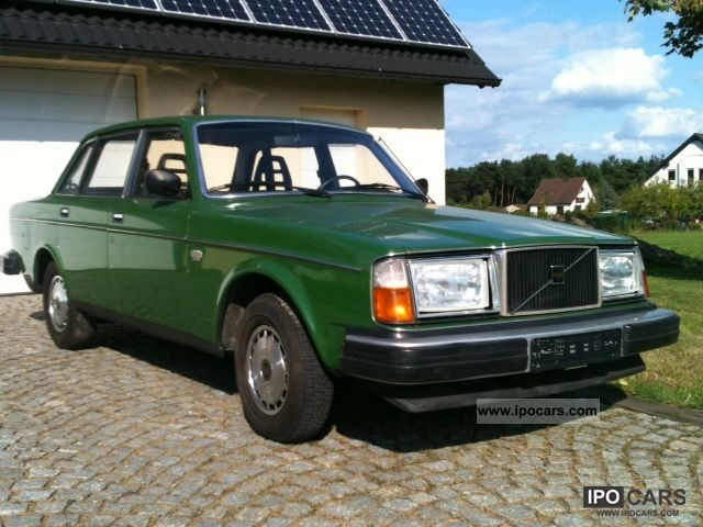Volvo  244 DLS H mark all green zones 1978 Vintage, Classic and Old Cars photo