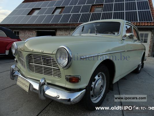 Volvo  Amazon P121 4D White 1966 Vintage, Classic and Old Cars photo