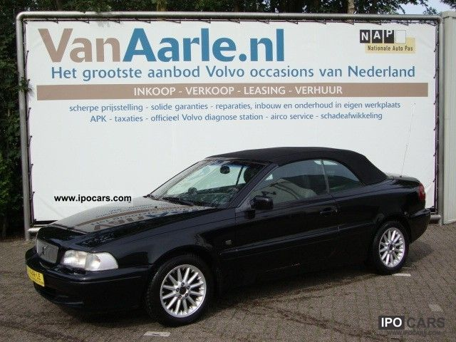 2000 volvo c70 convertible 2 4 t 193pk including warranty car photo and specs. Black Bedroom Furniture Sets. Home Design Ideas