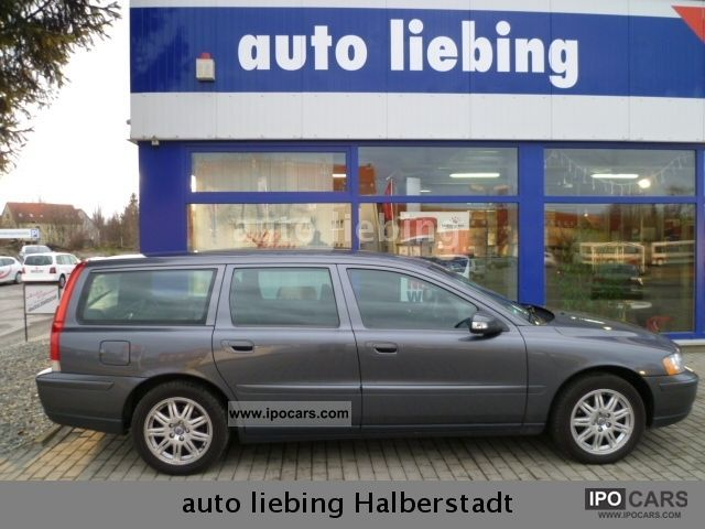 2006 Volvo  V70 2.4 D DPF Aut., Climate, navigation aluminum, take me Estate Car Used vehicle 			(business photo