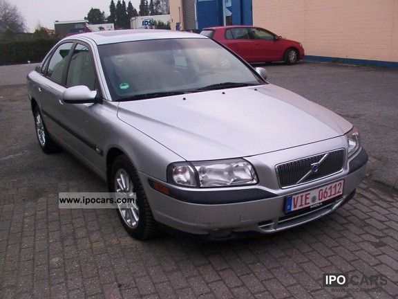 2001 volvo s80 car photo and specs. Black Bedroom Furniture Sets. Home Design Ideas