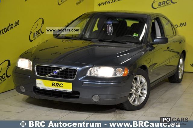 2005 Volvo  S60 2.4 D5 car Matas Limousine Used vehicle photo