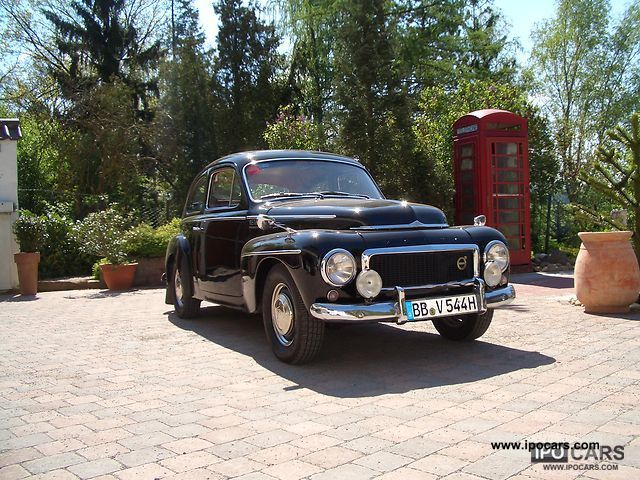 Volvo  P 544 1961 Vintage, Classic and Old Cars photo