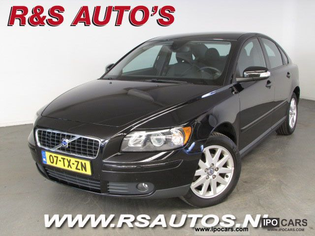 2007 volvo s40 1 6 edition i car photo and specs. Black Bedroom Furniture Sets. Home Design Ideas