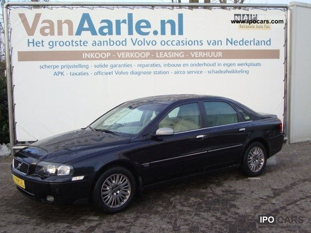 2006 volvo s80 d5 aut 163pk including warranty car photo and specs. Black Bedroom Furniture Sets. Home Design Ideas