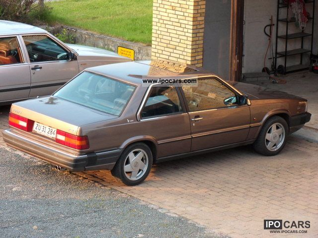 1987 Volvo 780 Car Photo And Specs