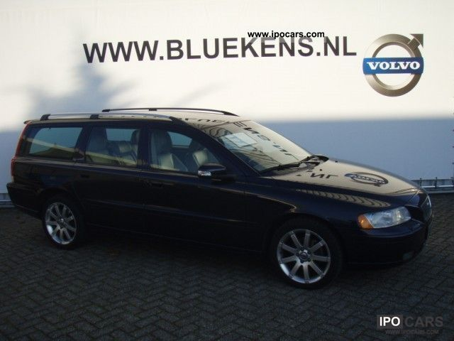 2007 Volvo V70 D5 Sport Edition 185pk Car Photo And Specs