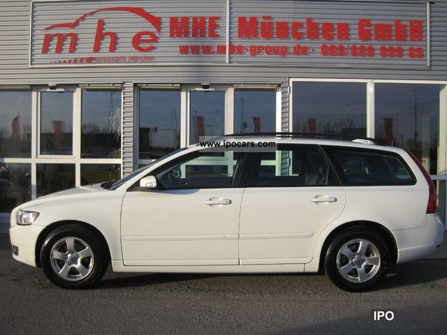Volvo  Momentum V50 1.6 / LPG / 1 Hand / € 4 2008 Liquefied Petroleum Gas Cars (LPG, GPL, propane) photo
