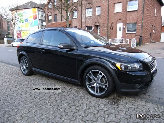 2008 volvo c 30 1 6 air alu 17 zoll 76000km car. Black Bedroom Furniture Sets. Home Design Ideas