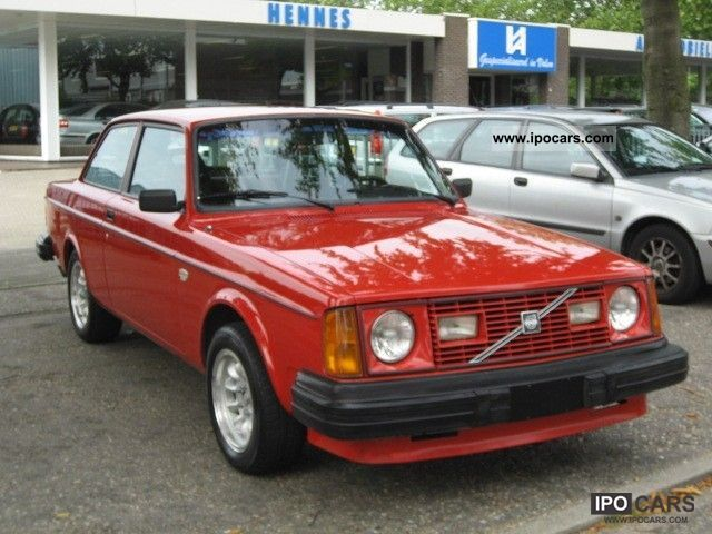 1979 Volvo 240 242 GT Turbo B230FT 200PK Limousine Classic Vehicle ...