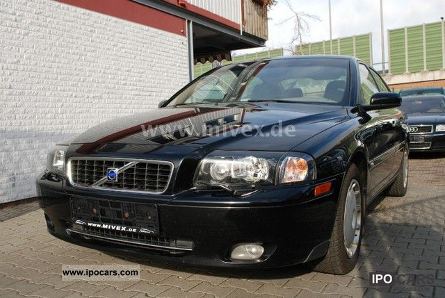 Volvo  S80 Bi-Fuel Automatic Black Edition 1.Hand 2005 Compressed Natural Gas Cars (CNG, methane, CH4) photo