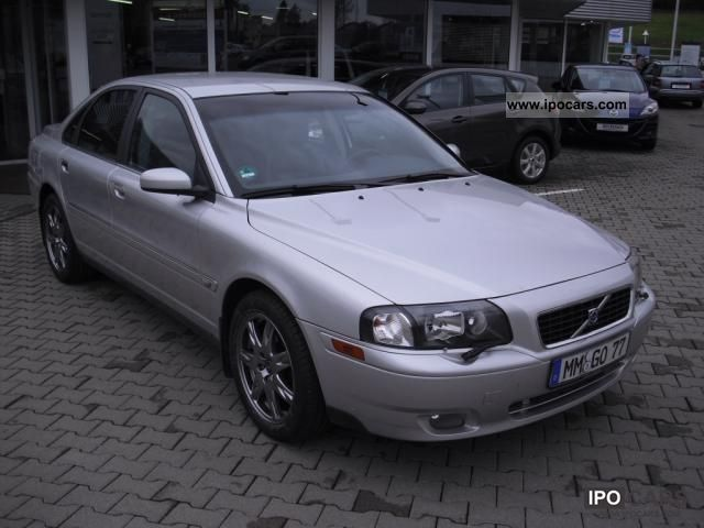 2005 Volvo S80 D5 Automatic Black Leather Edition DPF - Car Photo and ...