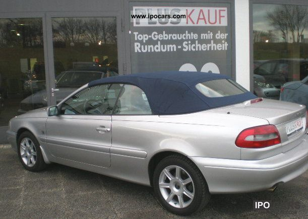 2001 volvo c70 convertible car photo and specs. Black Bedroom Furniture Sets. Home Design Ideas