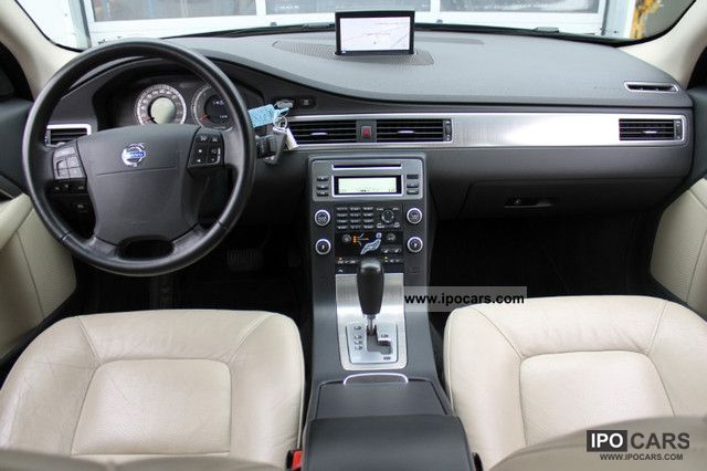 2008 Volvo S80 D5 Aut Momentum Beige Leather From First