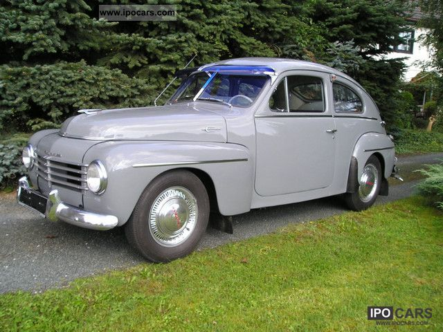 Volvo  HS 444 humpback Volvo 1954 Vintage, Classic and Old Cars photo
