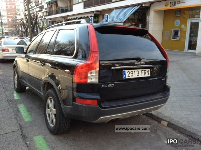 2007 volvo xc90 d5 aut kinetic car photo and specs. Black Bedroom Furniture Sets. Home Design Ideas