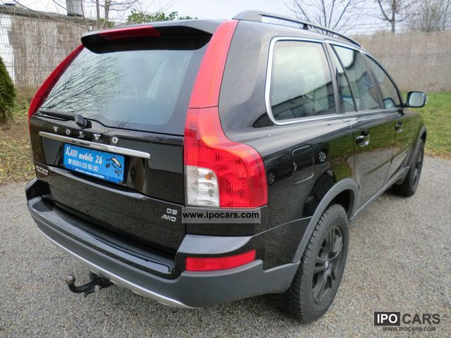 2008 volvo xc90 d5 kinetic 7 seater car photo and specs. Black Bedroom Furniture Sets. Home Design Ideas