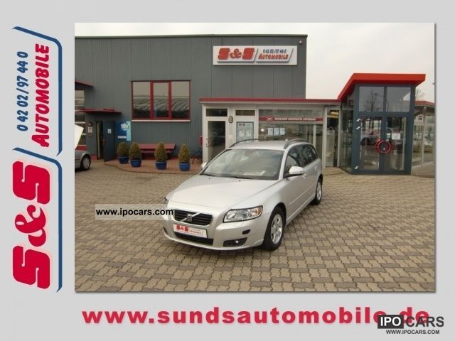 2009 Volvo  2.0-liter V50 Flexi Fuel Momentum xenon / cruise / PDC Estate Car Used vehicle photo
