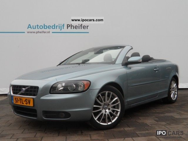 2006 volvo c70 convertible 2 4 140pk geartronic momentum car photo and specs. Black Bedroom Furniture Sets. Home Design Ideas