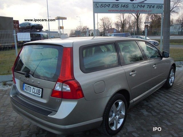 2009 Volvo V70 2 4 D5 185 Km Navi Air Tronic Car