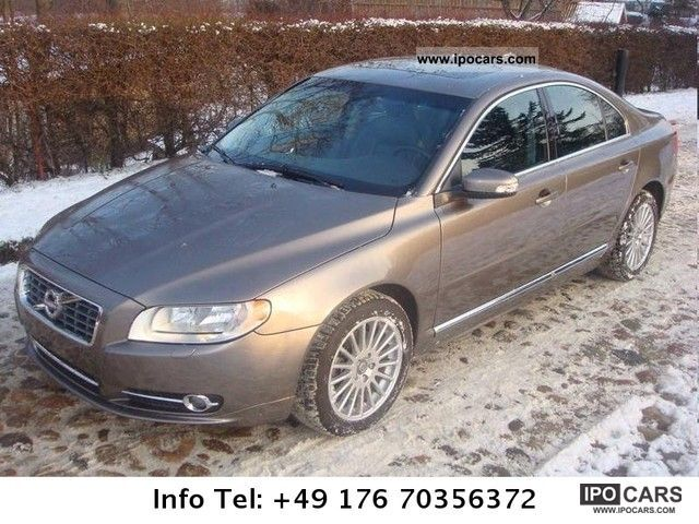 2010 volvo s80 3 2 aut leather car photo and specs. Black Bedroom Furniture Sets. Home Design Ideas